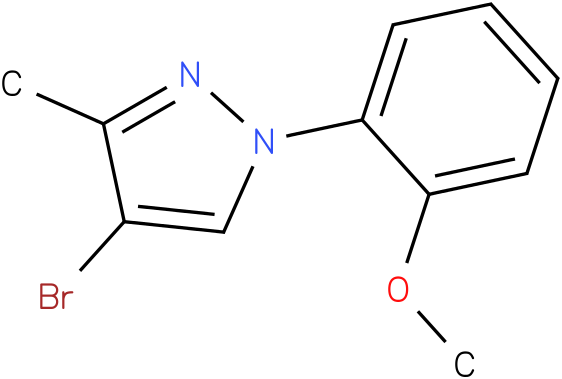 4-Bromo-1-(2-methoxy-phenyl)-3-methyl-1H-pyrazole