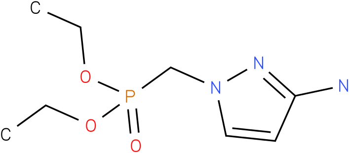 diethyl (3-amino-1H-pyrazol-1-yl)methylphosphonate