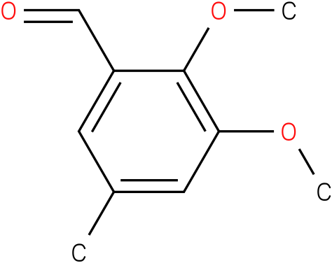 2,3-DIMETHOXY-5-METHYL-BENZALDEHYDE