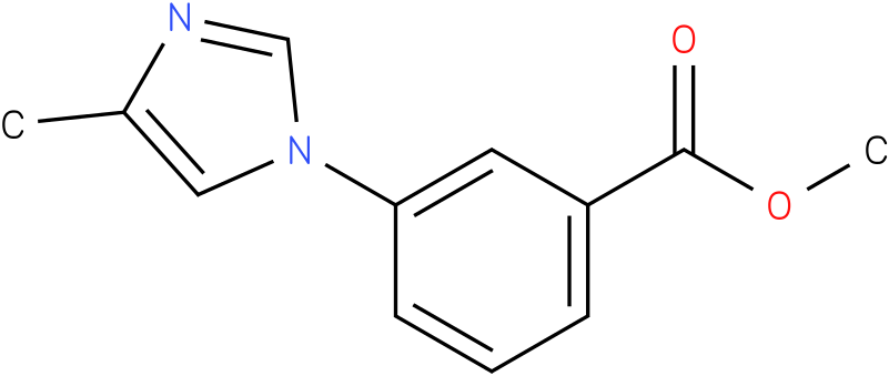 methyl 3-(4-methyl-1H-imidazol-1-yl)benzoate