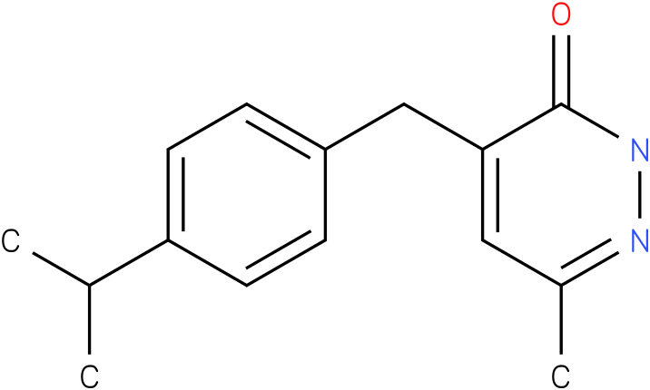 4-(4-Isopropyl-benzyl)-6-methyl-2H-pyridazin-3-one