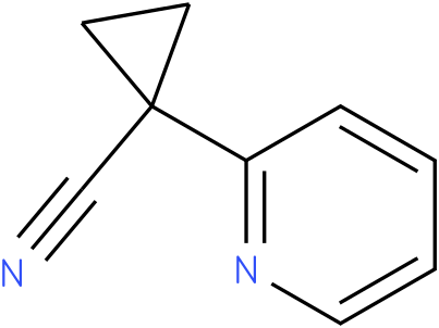 1-(pyridin-2-yl)cyclopropanecarbonitrile