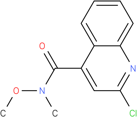 2-chloro-N-methoxy-N-methylquinoline-4-carboxamide