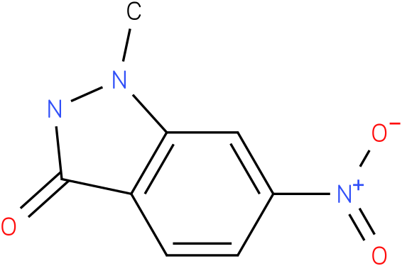1-methyl-6-nitro-1H-indazol-3(2H)-one