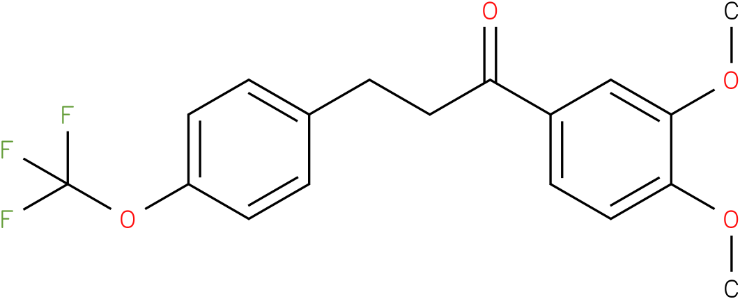 1-(3,4-Dimethoxy-phenyl)-3-(4-trifluoromethoxy-phenyl)-propan-1-one