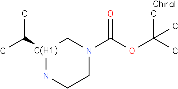 (S)-1-Boc- 3-isopropyl-piperazine