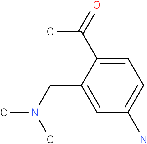 1-(4-Amino-2-dimethylaminomethyl-phenyl)-ethanone