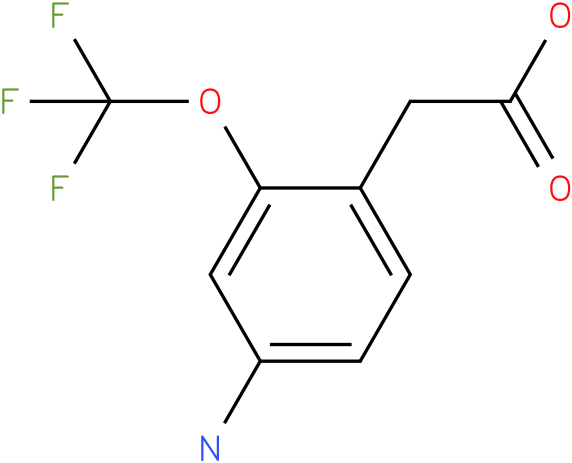 (4-Amino-2-trifluoromethoxy-phenyl)-acetic acid