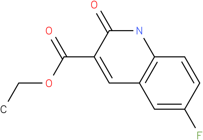 ethyl 6-fluoro-1,2-dihydro-2-oxoquinoline-3-carboxylate