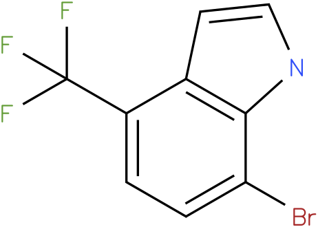 7-bromo-4-(trifluoromethyl)-1H-indole