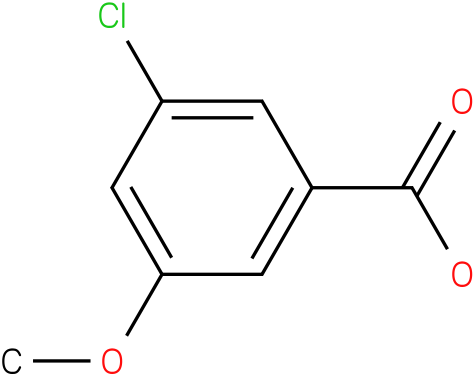 3-chloro-5-methoxybenzoic acid