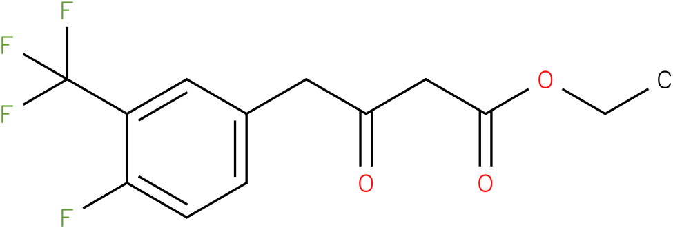 ethyl 4-(4-fluoro-3-(trifluoromethyl)phenyl)-3-oxobutanoate