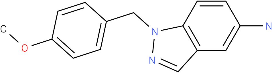 1H-Indazol-5-amine,1-[(4-methoxyphenyl)methyl]-