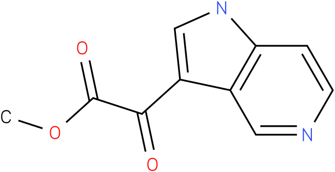 methyl 2-oxo-2-(1H-pyrrolo[3,2-c]pyridin-3-yl)acetate