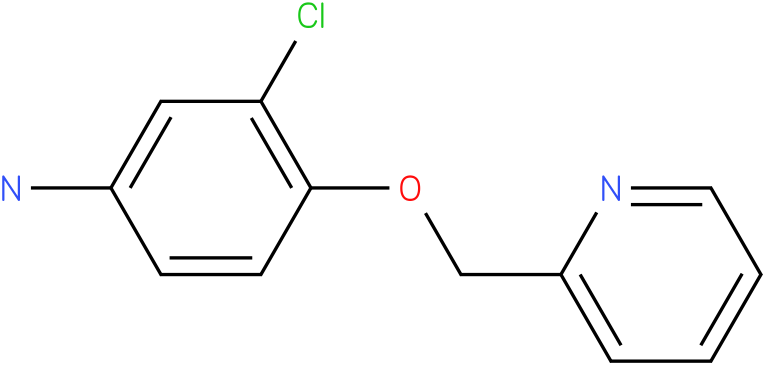 3-chloro-4-(pyridin-2 -ylmethoxy) benzenamine
