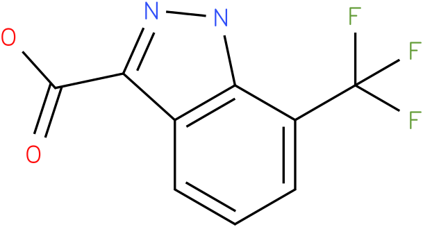 7-(trifluoromethyl)-1H-indazole-3-carboxylic acid