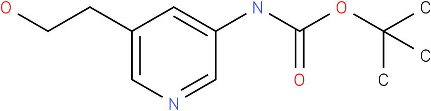 [5-(2-Hydroxy-ethyl)-pyridin-3-yl]-carbamic acid tert-butyl ester