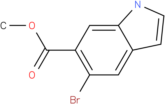 methyl 5-bromo-1H-indole-6-carboxylate