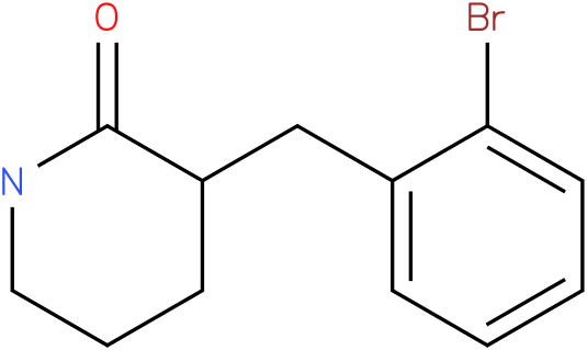 3-(2-bromobenzyl)piperidin-2-one
