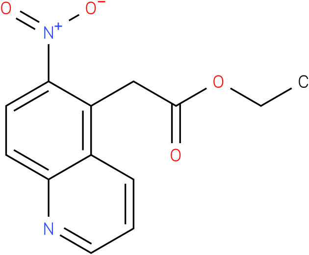 ethyl 2-(6-nitroquinolin-5-yl)acetate