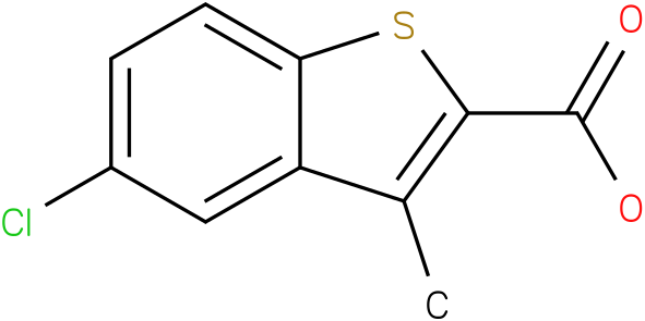 5-chloro-3-methyl-1-benzothiophene-2-carboxylic acid