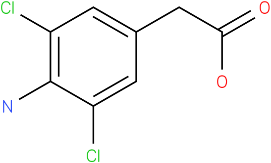 1-(4-Amino-3,5-dichloro-phenyl)-acetic acid