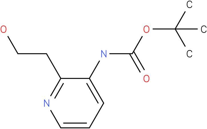 [2-(2-Hydroxy-ethyl)-pyridin-3-yl]-carbamic acid tert-butyl ester