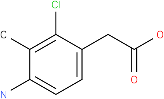 (4-Amino-2-chloro-3-methyl-phenyl)-acetic acid