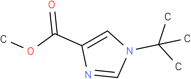 methyl 1-tert-butyl-1H-imidazole-4-carboxylate