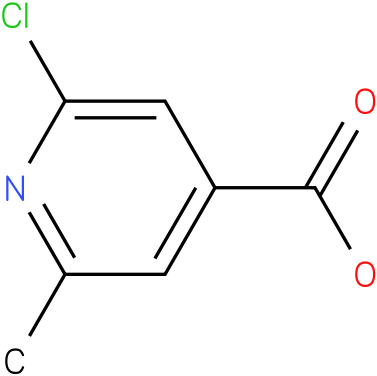 2-chloro-6-methylisonicotinic acid