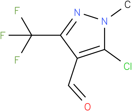 5-chloro-1-methyl-3-(trifluoromethyl)-1H-pyrazole-4-carbaldehyde
