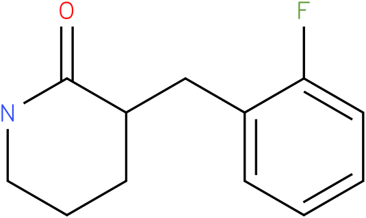 3-(2-fluorobenzyl)piperidin-2-one