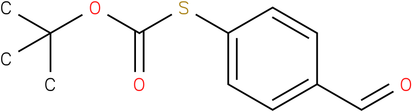 thiocarbonic acid o-tert-butyl ester S-(4-formyl-phenyl) ester