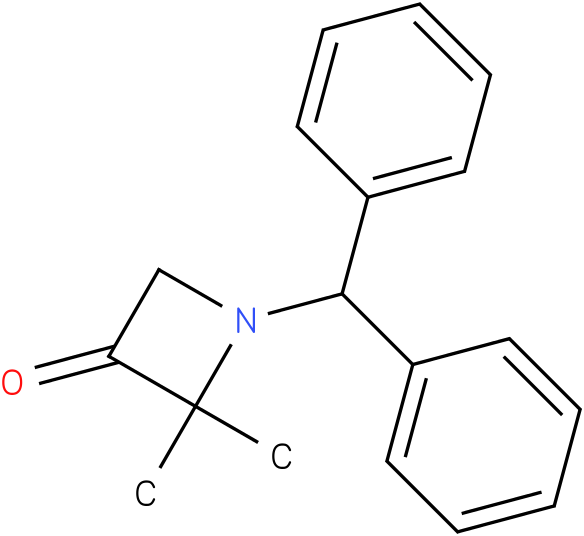 1-benzhydryl-2,2-dimethylazetidin-3-one
