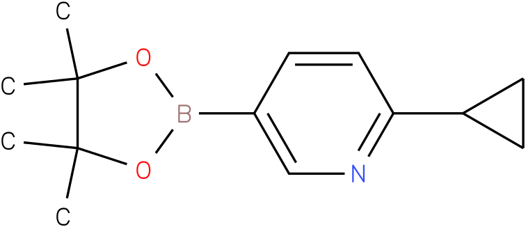 6-cyclopropyl-3-pyridinyl boronic acid pinacol ester