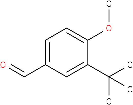 3-tert-butyl-4-methoxybenzaldehyde