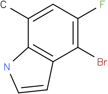 4-bromo-5-fluoro-7-methyl-1H-indole