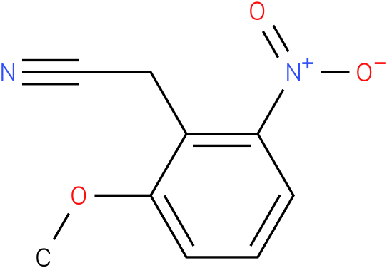 2-(2-methoxy-6-nitrophenyl)acetonitrile