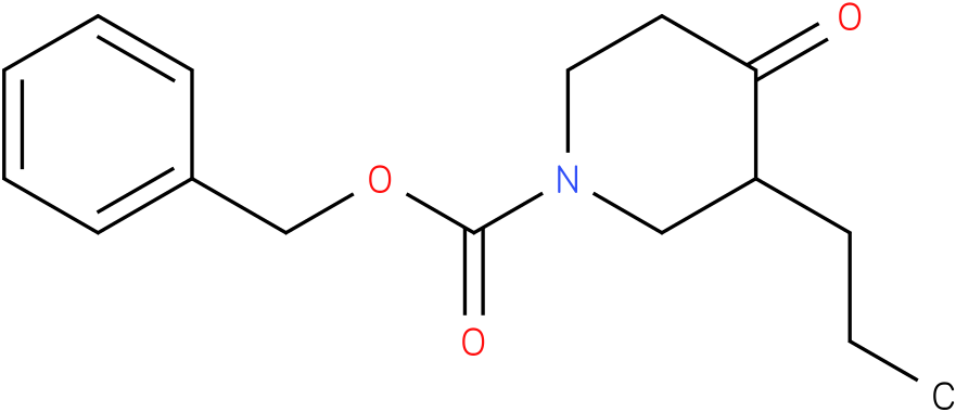 1-Cbz-3-n-propyl-piperidin-4-one