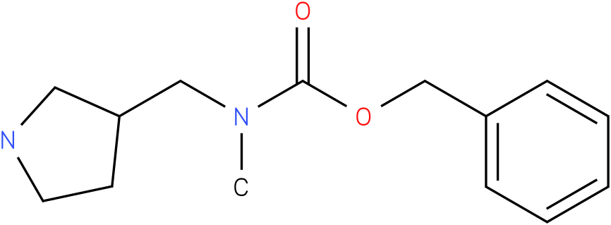 BENZYL METHYL(PYRROLIDIN-3-YLMETHYL)CARBAMATE