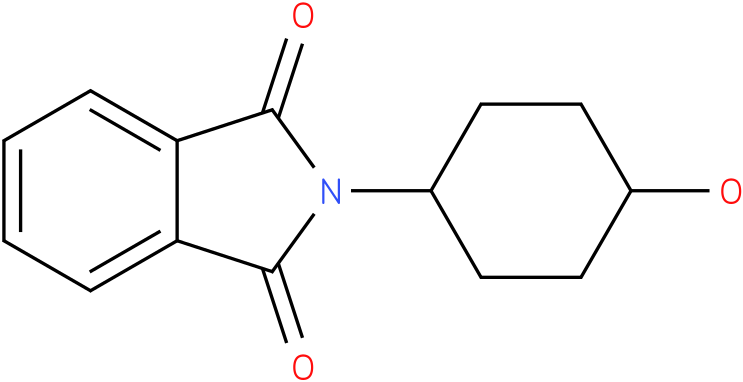2-(trans-4-hydroxycyclohexyl)-1H-Isoindole-1,3(2H)-dione