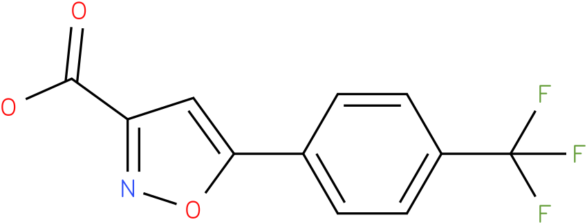 5-(4-(trifluoromethyl)phenyl)isoxazole-3-carboxylic acid