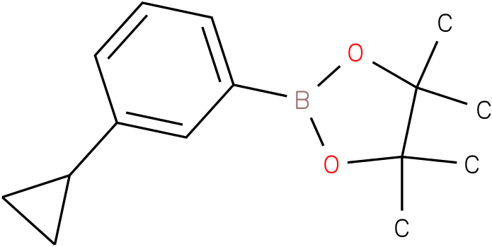 2-(3-Cyclopropylphenyl)-4,4,5,5-tetramethyl-[1,3,2]dioxaborolane