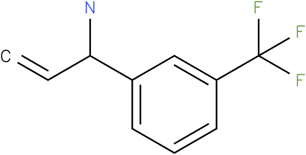 1-(3-(trifluoromethyl)phenyl)prop-2-en-1-amine