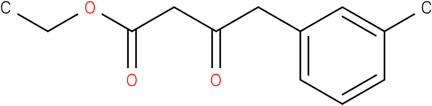 3-oxo-4-m-tolyl-butyric acid ethyl ester