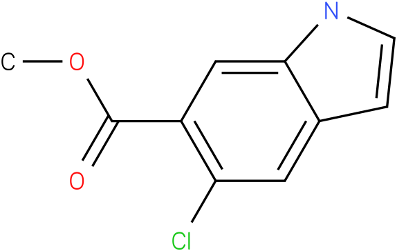 methyl 5-chloro-1H-indole-6-carboxylate