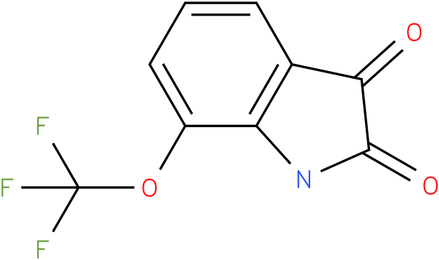 7-(trifluoromethoxy)indoline-2,3-dione
