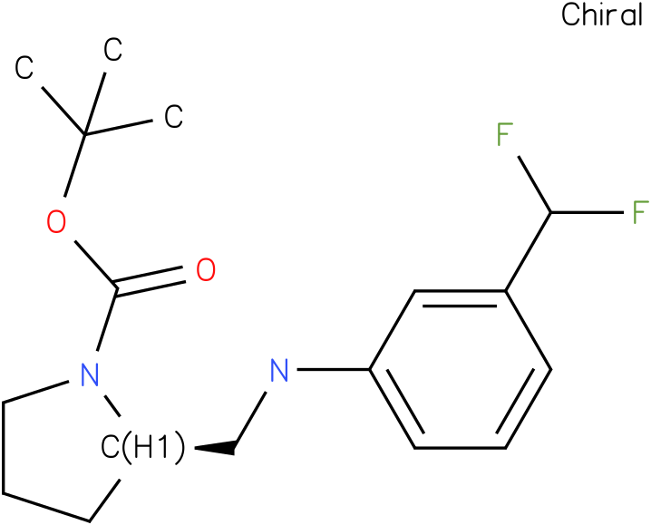 (R)-1-Boc-2-{[(3-Trifluoromethyl-phenyl)-amino]-methyl}-pyrrolidine
