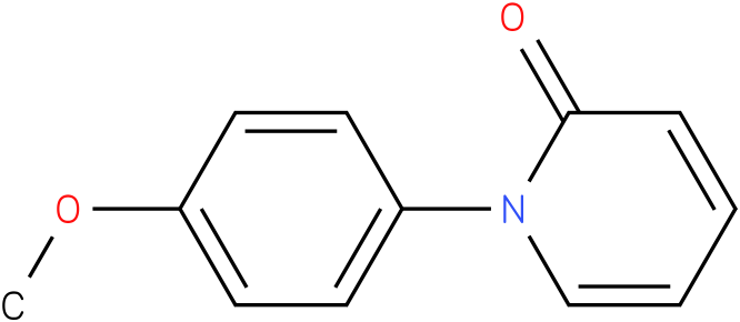 1-(4-methoxyphenyl)pyridin-2(1H)-one