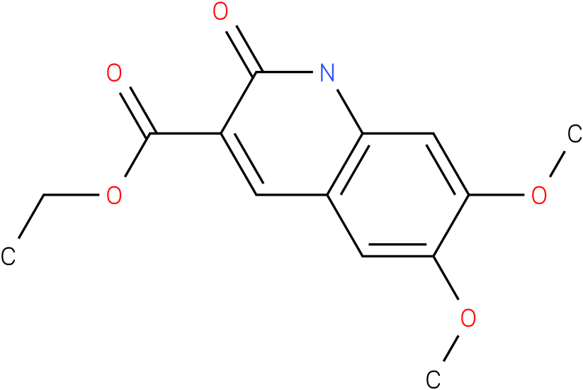 ethyl 1,2-dihydro-6,7-dimethoxy-2-oxoquinoline-3-carboxylate